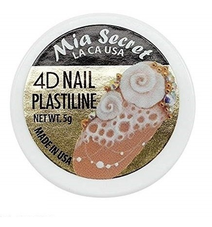 4d Nail Plastiline   5 Gr   Mia Secret