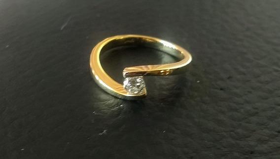 Anillo De Compromiso Con Diamante 23 Pts