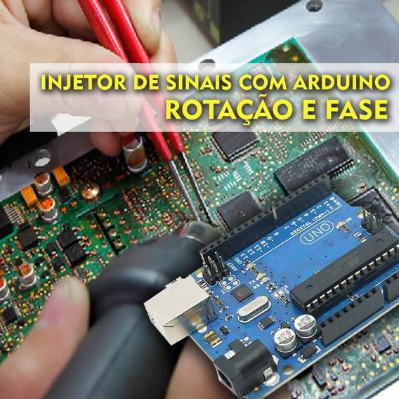 Injetor De Sinais - Rotação E Fase Com Arduino - 28 Sinais