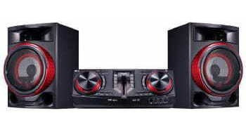 Mini System Lg 1800w Bluetooth Cd Usb - Cj87.abrallk
