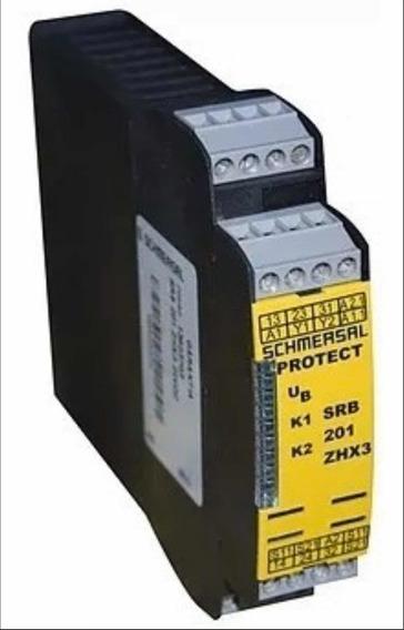 Relé De Segurança Srb 201zhx3 Schmersal Controle Bi-manual
