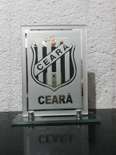 Escudos De Times De Futebol Em Espelho Jateado