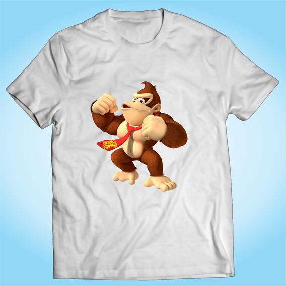 Camisa Donkey Kong Super Mario Video Game Nintendo Player