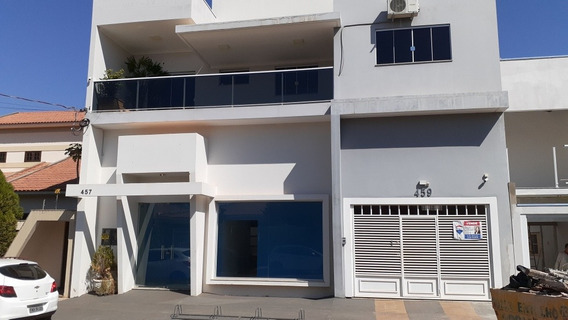 Salão Comercial E Apartamento Exclusivo Garagem Própria