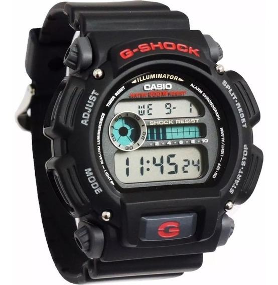 Promoção Relógio Casio G-shock Digital Dw-9052-1vdr Original