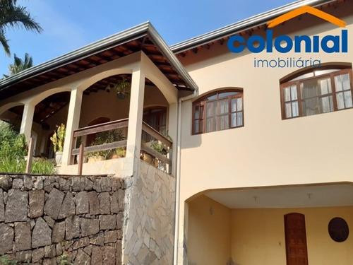 Excelente Casa Com 4 Quartos Sendo 1 Suíte No Parque Da Fazenda Em  Itatiba - Ca01034 - 68534427