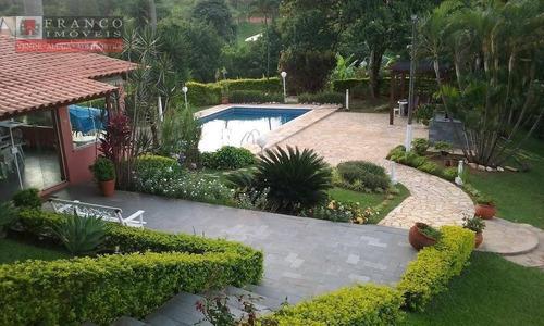 Chácara Com 4 Dormitórios À Venda, 7000 M² Por R$ 1.300.000,00 - Vale Verde - Valinhos/sp - Ch0029