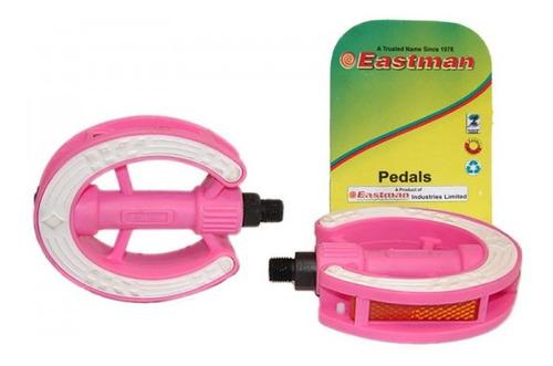 Imagen 1 de 4 de Pedales Bicicleta Nena Rosa Rosca 1/2 Eastman - Racer Bikes
