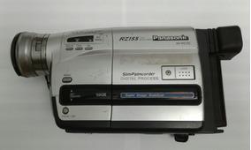 Câmera Mini Vhs Panasonic Rz155 C/ Fita Brinde