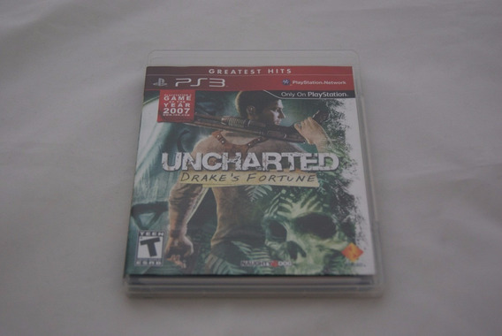 Jogo Ps3 - Uncharted Drake Fortune