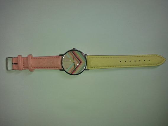Relógio Arco-íris Várias Cores