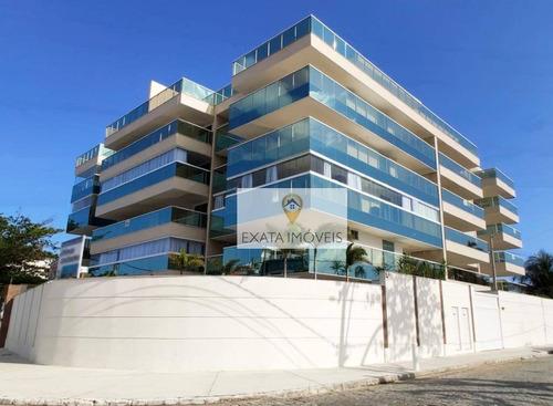 Apartamento Alto Padrão, Pronto Para Morar, Na Praia De Costazul, Rio Das Ostras! - Ap0496