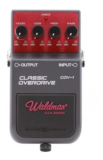 Pedal Para Guitarra Waldman Classic Overdrive Cov1 Oferta.