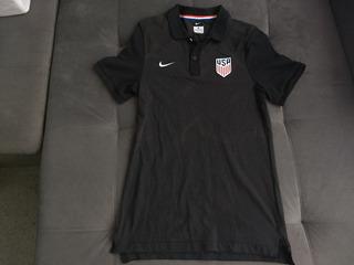 Camisa Polo Da Seleção Dos Estados Unidos De Futebol Da Nike