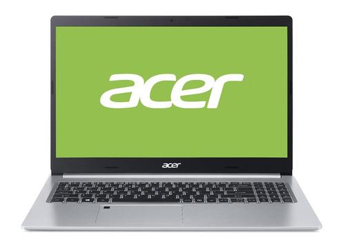 "Notebook Acer Aspire 5 A515-54 prata 15.6"", Intel Core i5 10210U  8GB de RAM 512GB SSD, Intel UHD Graphics 620 1366x768px Windows 10 Home"