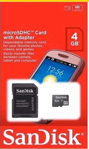 Kit 12 Cartão Micro Sd Card Sandisk 4gb Original + Frete