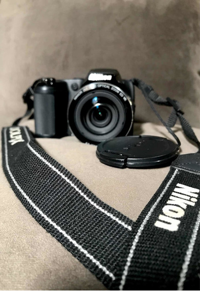 Câmera Nikon Semi Profissional Quebrada