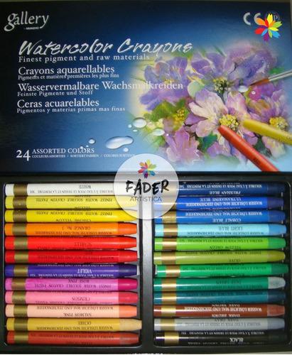 Crayones Acuarelables Mungyo 36 Colores Barrio Norte