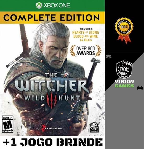 The Witcher 3: Wild Hunt + Dlcs - Xbox One M. Digital