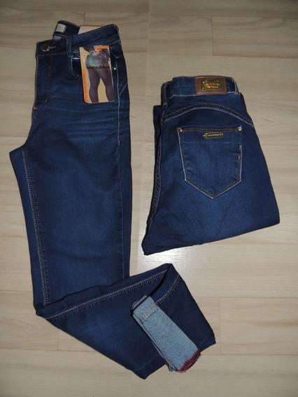 Calça Consciencia Jeans Hot Pants Levanta Bumbum