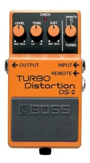 Pedal De Efeito Boss Ds2 Turbo Distortion - Original!!