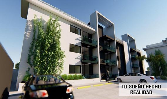 Moderno Apartamento A Estrenar, 1er Nivel, En Sfm Salida A Sto. Dgo.