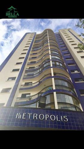 Apartamento Residencial À Venda, Vila Romana, São Paulo. - Ap1019