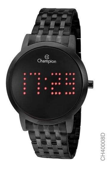Relógio Champion Digital Led Preto Ou Chocolate Lançamento
