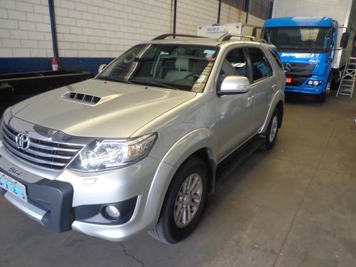 Toyota Hilux Sw4 2014 Prata 7 Lug. Nova