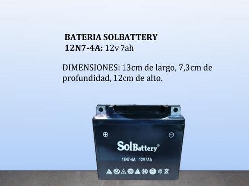 Baterias 12n7-4a (12v 7ah)