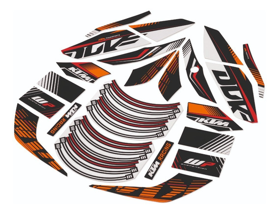 Kit Gráficos Originales Ktm Duke 200/290 Raceline
