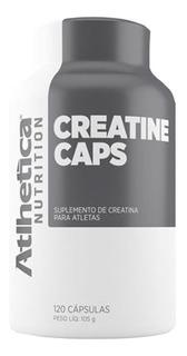 Creatine 120 Caps - Atlhetica Nutrition - 120 Cápsulas