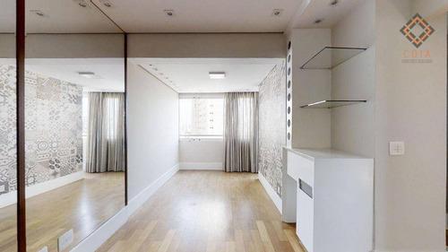 Imagem 1 de 14 de Apartamento Para Compra Com 2 Quartos E 1 Vaga Localizado No Brooklin - Ap55350