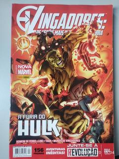 Hq Vingadores: Os Heróis Mais Poderosos Da Terra N° 004