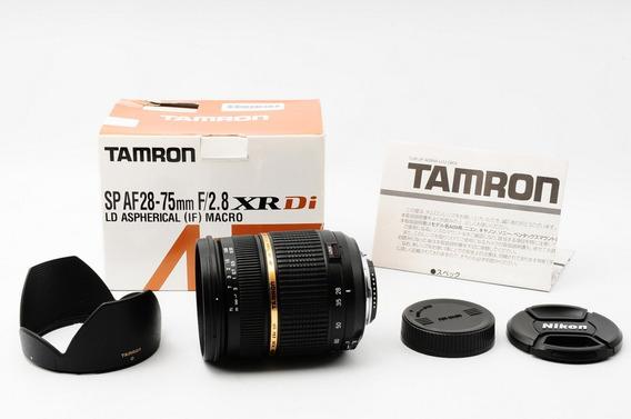 Lente Nikon Tamron 28-75 2.8 Fullframe Como Nova