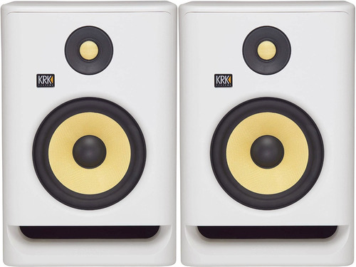 Monitores Potenciados Krk Rokit 7 G 4 Rp7g4wn White N El Par