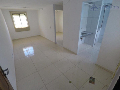 Apartamento Com 1 Dormitório À Venda, 42 M² Por R$ 110.000 - Cidade Tiradentes - São Paulo/sp - Ap2137