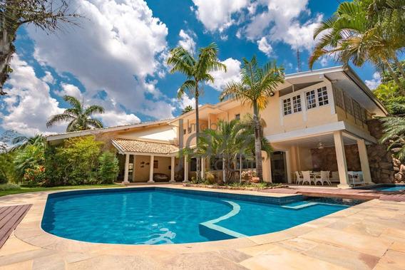 Casa Com 5 Dormitórios À Venda, 1.600 M² Por R$ 11.000.000 - Ca4323