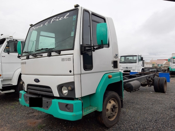 Ford Cargo 816 (no Chassi) - 2015