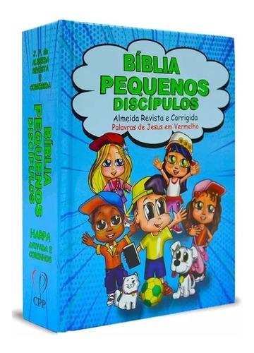 Bíblia Infantil Pequenos Discípulos Harpa Meninos / Meninas
