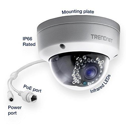 Trendnet Cam Ip Ext-d/n-mpixel-poe-domo - Tv-ip311pi