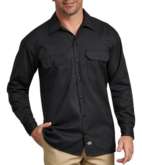 Dickies 574 Camisa Camisola Trabajo Uso Rudo Manga Larga