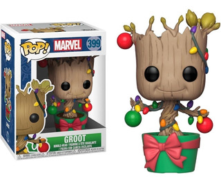Funko Pop! Holiday Guardians Of The Galaxy - Groot