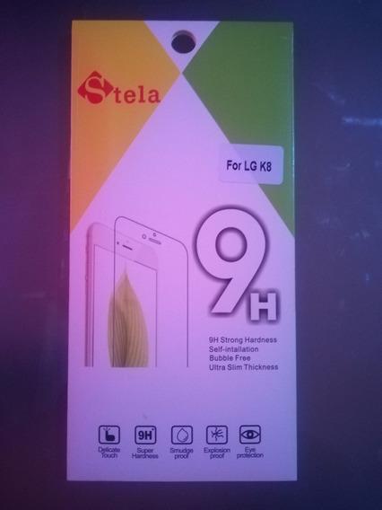 Mica Protectora Vidrio Templado Glass Smartphone LG K8