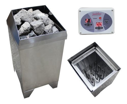 Calefactor Para Sauna Seco - 9kwt - Fabricantes - Digital