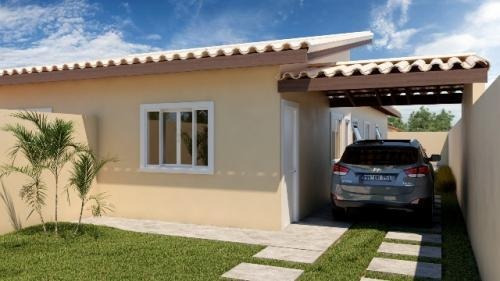 Casa Com Ótimo Acabamento No Bairro Nova Itanhaém - 6304|npc