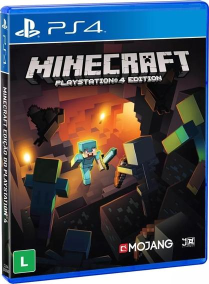 Minecraft Playstation 4 Mídia Física Lacrado Nacional Rj