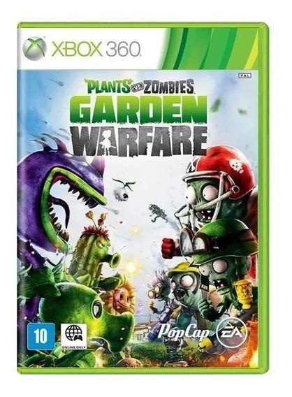 Jogo Plants Vs Zombies Xbox360 Original Lacrado Mídia Física