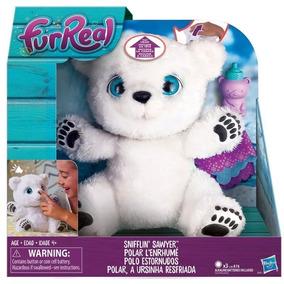 Urso Pelucia Furreal Polar A Ursinha Resfriada Hasbro