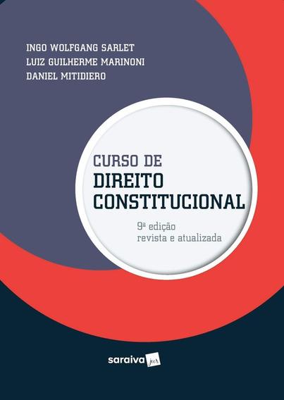 Curso De Direito Constitucional - 9ª Edição 2020 - Novo